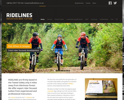 Mountain Bike Tuition in Innerleithen and Peebles