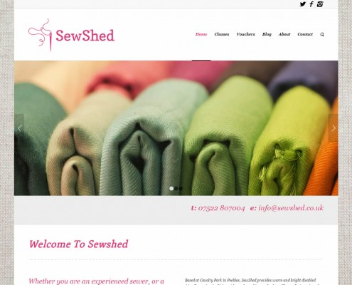 Sew Shed - Sewing classes in Peebles, Scottish Borders