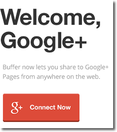 You can now use Buffer to post to Google+