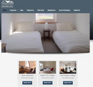 Innerleithen Holiday Lets Web site Design