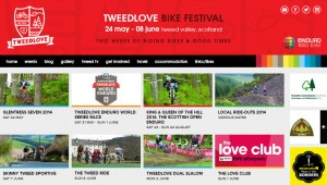 Enduro World Series at Tweedlove - UK's largest Bike festival in Innerleithen & Peebles