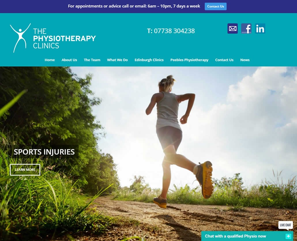 The Physiotherapy Clinics in Edinburgh and Peebles