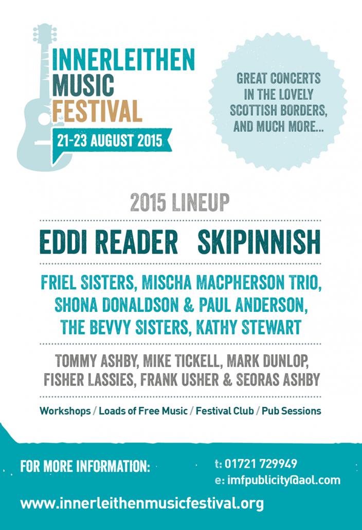 Innerleithen Music Festival Advert