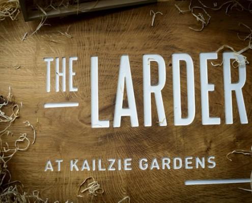 The Larder farm shop in Peebles