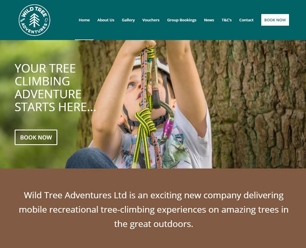 Wild Tree Adventures - Scottish Borders based tree climbing adventure activities