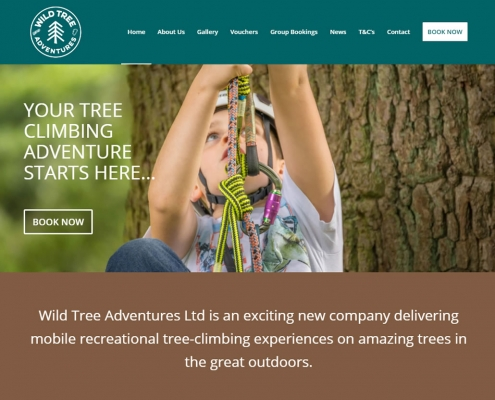 Wild Tree Adventures - Scottish Borders based tree climbing adventure activities